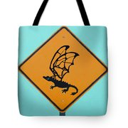 Dragon Crossing Tote Bag