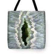 Dragon Eye Agate Druzy Tote Bag