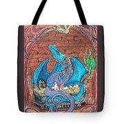 Dragon Family Tote Bag
