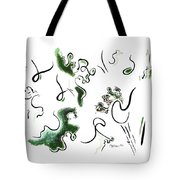Dragon Fire Tote Bag