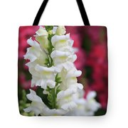 Dragon Flowers Tote Bag by Tracy Hall