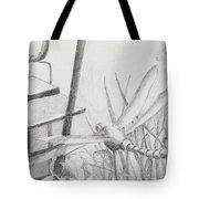 Dragon Fly And Lantern Tote Bag