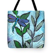 Dragon Fly At Rest Tote Bag