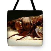 Dragon Fly Head Tote Bag