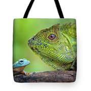 Dragon Forest And Frog Tote Bag