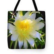 Dragon Fruit Flowering Tote Bag
