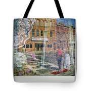 Dragon Garden Tote Bag