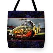 Dragon Jet Tote Bag