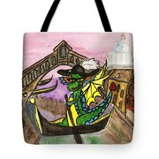 Dragon New Year Comes To Venice Tote Bag