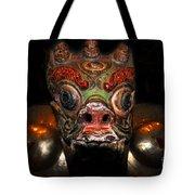 Dragon Of Nepal Tote Bag