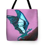 Dragon On Branch Tote Bag