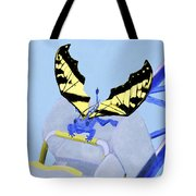 Dragon On Roller Coaster Tote Bag
