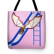 Dragon On Slide Tote Bag