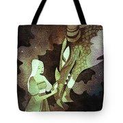 Dragon Princess Tote Bag