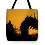 Dragon Sunrise 1 Tote Bag