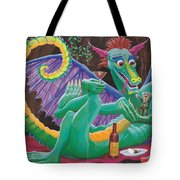 Dragon Sups Tote Bag