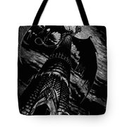 Dragon Tower Tote Bag