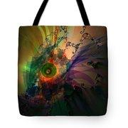 Dragon Wisdom Eye Tote Bag