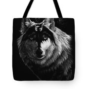 Dragon Wolf Tote Bag by Stanley Morrison