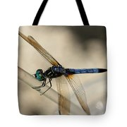 Dragonfly Abstract Tote Bag