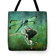 Dragonfly Art Tote Bag