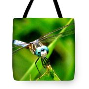 Dragonfly Close Up 2 Tote Bag