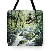 Dragonfly Creek Tote Bag