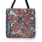 Dragonfly Deco Tote Bag