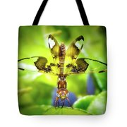Dragonfly Design Tote Bag