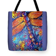 Dragonfly F Tote Bag