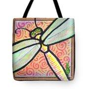 Dragonfly Fantasy 3 Tote Bag
