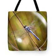 Dragonfly In A Bubble Tote Bag