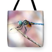 Dragonfly In Balance Tote Bag