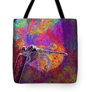 Dragonfly Insect Close Wing  Tote Bag