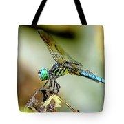 Dragonfly Landing Tote Bag