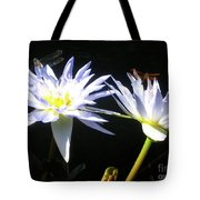 Dragonfly Lily Tote Bag
