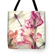 Dragonfly Morning II Tote Bag