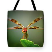 Dragonfly Pitstop Tote Bag