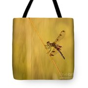Dragonfly Pole Dance Tote Bag