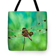 Dragonfly Rear Approach Tote Bag