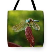 Dragonfly Resting II Tote Bag