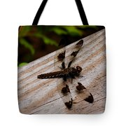Dragonfly Spots Tote Bag