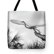 Dragonfly Wing Man Bw Tote Bag