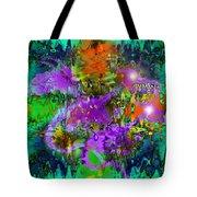 Dragons Abstract. Tote Bag
