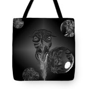 Dragons And Tigers Tote Bag
