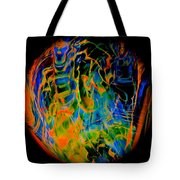 Dragons And Wizards Tote Bag