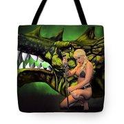 Dragon's Bane Color Tote Bag