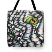 Dragon's Eye Tote Bag