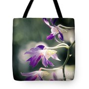 Dragons In The Orchids Tote Bag
