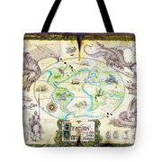 Dragons Of The World Tote Bag